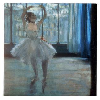Tänzer Edgar Degass | vor einem Fenster Keramikfliese