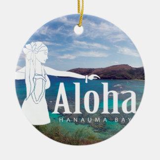 Tänzer Hawaiis Hula Keramik Ornament