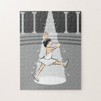 Tänzerin des Balletts weiht sein Erfolg Puzzle