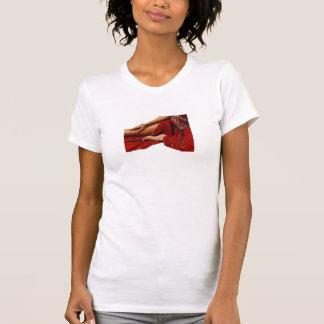 Tänzerrot T-Shirt
