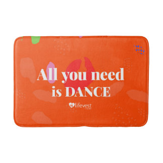 """""""tanzt All You Need I"""" Bathmat Badematte"""