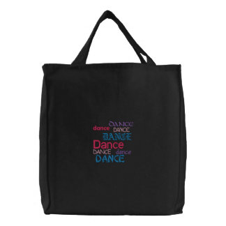 Tanztanz… Bestickte Einkaufstaschen