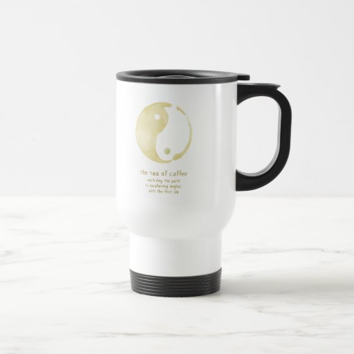 Tao der Kaffeereise-Tasse
