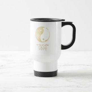 Tao der Kaffeereise-Tasse Edelstahl Thermotasse