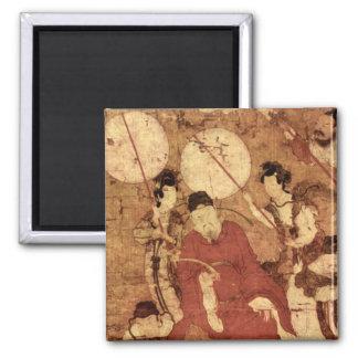 Taois Tischer Heiliger MIT Gefage_The Orient Quadratischer Magnet