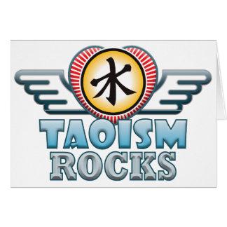 Taoismus-Felsen Karte