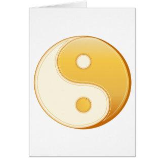 Taoismus-Symbol Karte