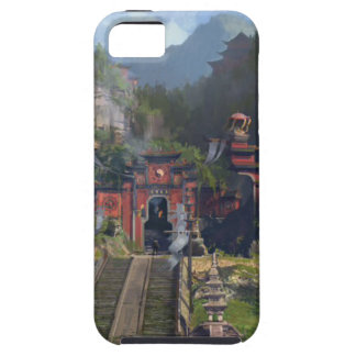Taoist-Tempel iPhone 5 Etui