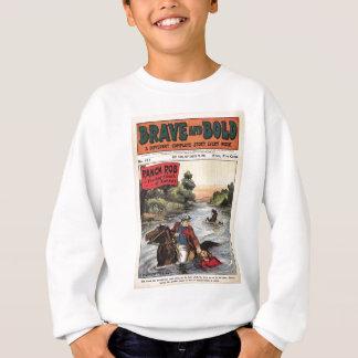 Tapferer und mutiger SerienWestern-Comic-Ranch-Bob Sweatshirt