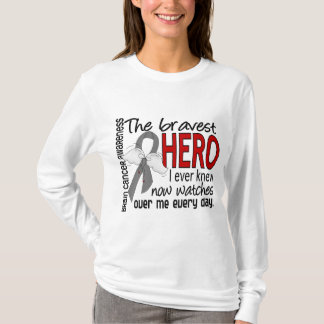 Tapferster Held kannte ich überhaupt Hirntumor T-Shirt