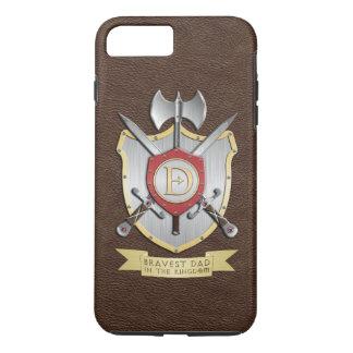 Tapferster Vati im Königreich Brown iPhone 8 Plus/7 Plus Hülle