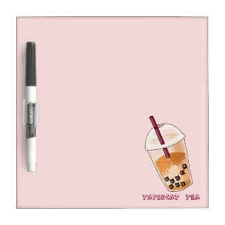 Tapiocat Tee-Wortspiel-Illustration Memoboard