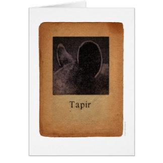 Tapir Karte