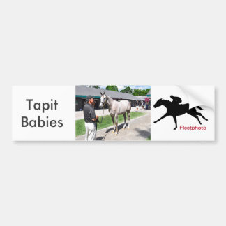 Tapit - auswendig bei Fasig Tipton Autoaufkleber