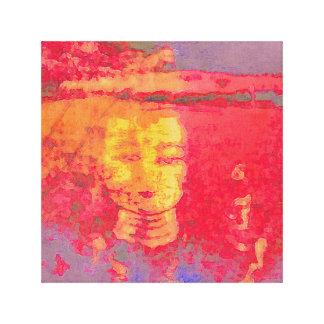 Tara-Träume in den Rosa Leinwanddruck