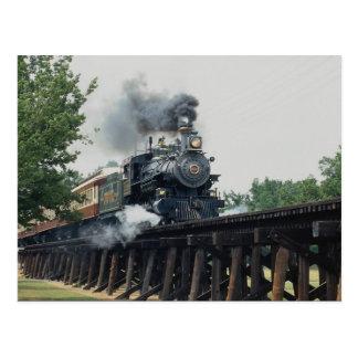 Tarantula-Eisenbahn, Fort Worth, Texas, USA Postkarte