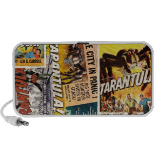 Tarantula-Film-Plakat-Gekritzel-Lautsprecher Reise Speaker