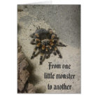 Tarantula-Monster-Geburtstags-Karte Karte
