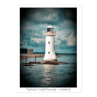Tarbert Leuchtturm Postkarte