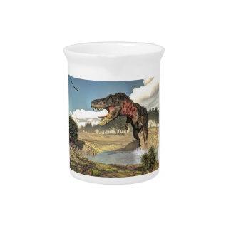 Tarbosaurus Dinosaurier - 3D übertragen Krug
