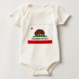 Tardigrade Republik-Flagge Baby Strampler