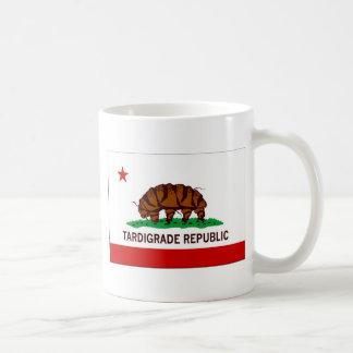 Tardigrade Republik-Flagge Kaffeetasse