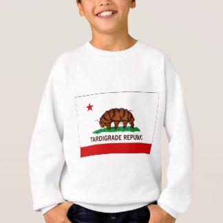 Tardigrade Republik-Flagge Sweatshirt