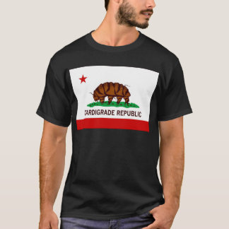 Tardigrade Republik-Flagge T-Shirt