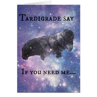 Tardigrade sagen Sie - urteilend Karte