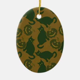 Tarnung Halloween Keramik Ornament