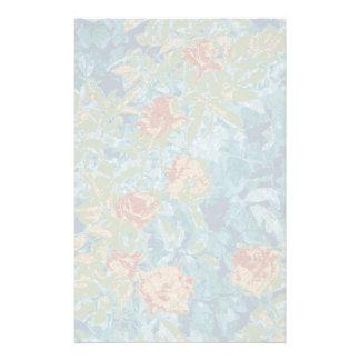 Tarnung und Blumen Briefpapier