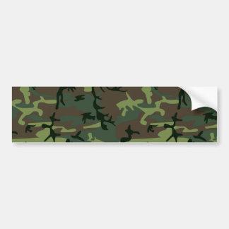 Tarnungs-Camouflage-Grün-Brown-Muster Autoaufkleber