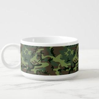 Tarnungs-Camouflage-Grün-Brown-Muster Schüssel