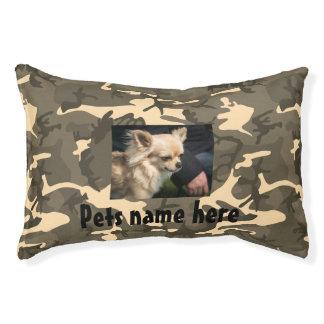 Tarnungs-Haustier-Kissen (Ihr Haustiere Name und Haustierbett