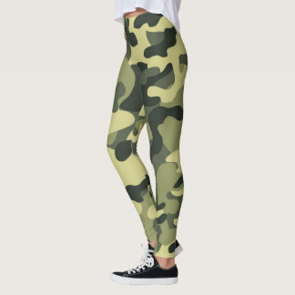 Tarnungs-Muster Leggings