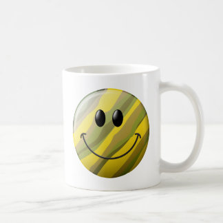 Tarnungs-Smiley Kaffeetasse