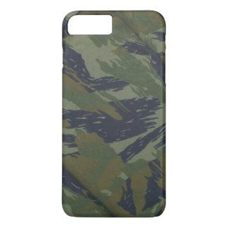 Tarnungs-Vintages Dschungel-Muster iPhone 8 Plus/7 Plus Hülle