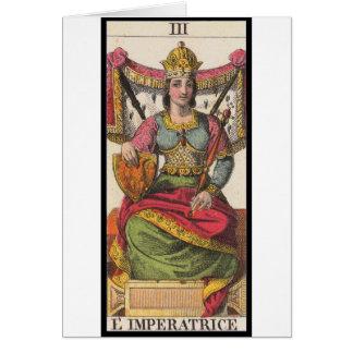 Tarot: Die Kaiserin Karte