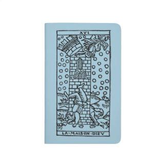 Tarot-Karte: Der Madhouse Taschennotizbuch