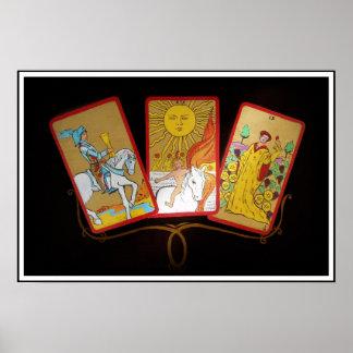 Tarot-Karten (2) Posterdruck