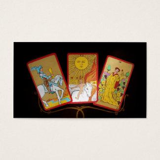 Tarot-Karten Visitenkarte