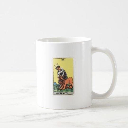 Tarot Kraft Strength Kaffeetasse