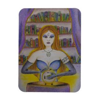 Tarot-Leser, geistiger Leser-Magnet Magnet