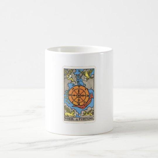 Tarot Rad  des Schicksals Wheel of Fortune Kaffeetasse