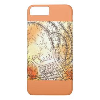 Tarot-Symbol-Bank iPhone 8 Plus/7 Plus Hülle
