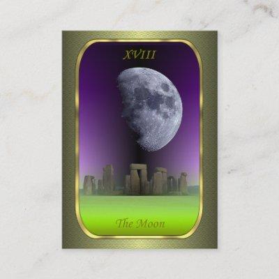 Tarot Visitenkarten Die Stern Karte Visitenkarte Zazzle De