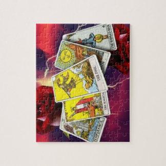 Tarotkartenpuzzlespiel Puzzle