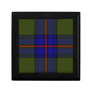Tartan-Clan Shaw Erinnerungskiste