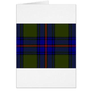 Tartan-Clan Shaw Karte