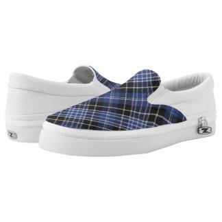 Tartan-Clark-Slipper Slip-On Sneaker